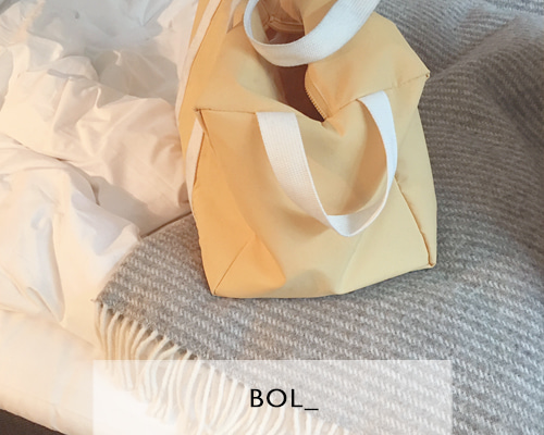 BOL block bag / yellow