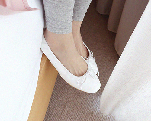 ivory multi flat shoes
