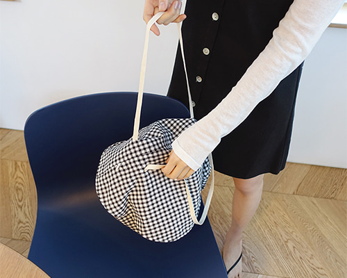 circle check bag ( 2color )