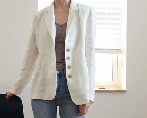 re linen jacket ( 2color )