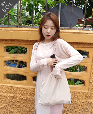 BOL silky loose top/pink 2차재입고
