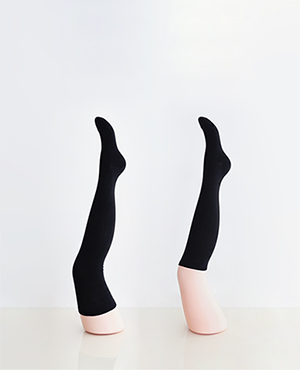 long & short  half socks