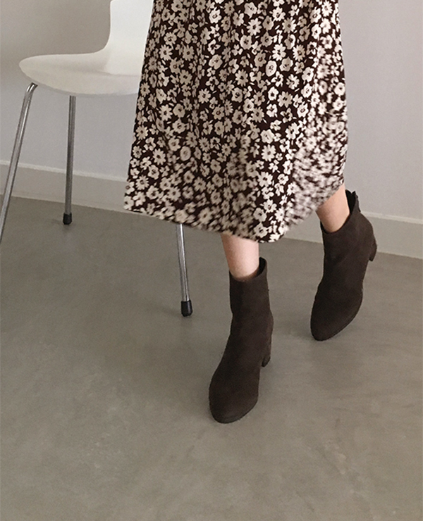 brown ankle boots 재입고