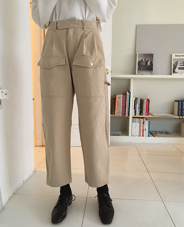 pocket pants (2color)