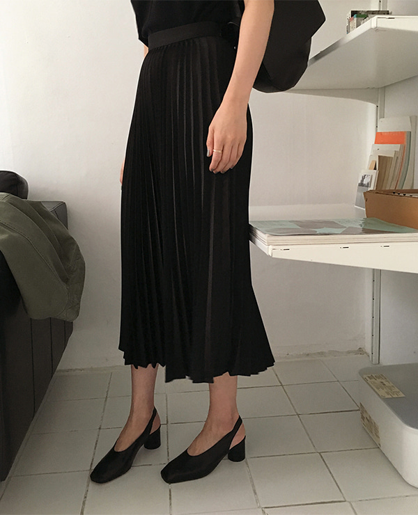 ss pleated skirt