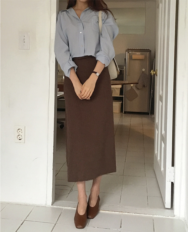 file brown  skirt