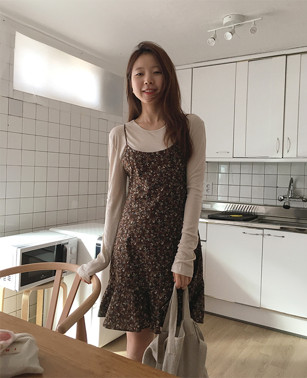 brown su dress