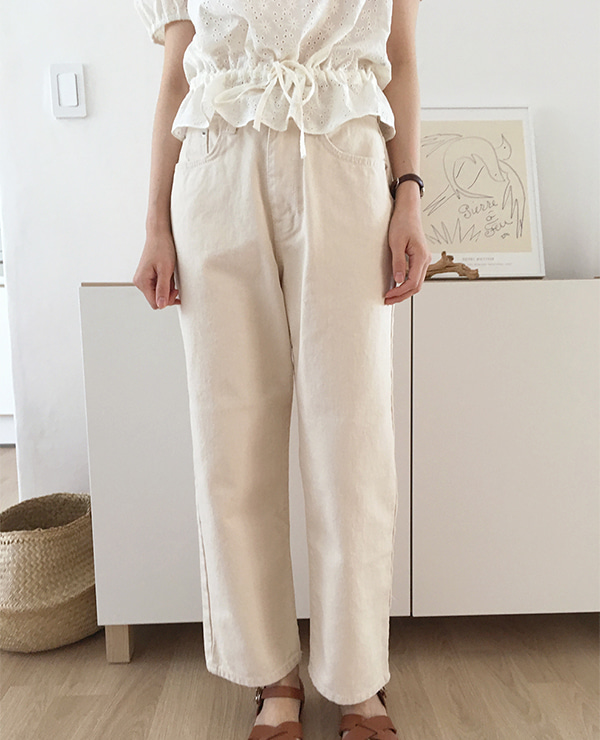 ivory cloud pants