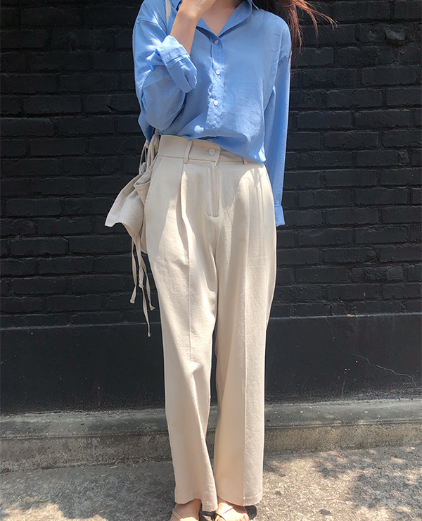 beige hope pants 재입고