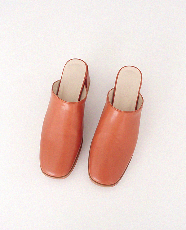 orange brown mac shoes